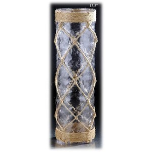 Will's Company Accents Rope Cylinder - 15.5""