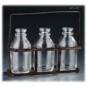 "Will's Company Accents 3 Bottles in a Carrier - 4.5"" x 7.5"""