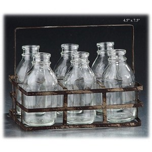 "Will's Company Accents 6 Bottles in a Carrier - 4.5"" x 7.5"""