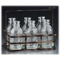"""Will's Company Accents 6 Bottles in a Carrier - 4.5"""" x 7.5"""" - Item Number: D94006"""