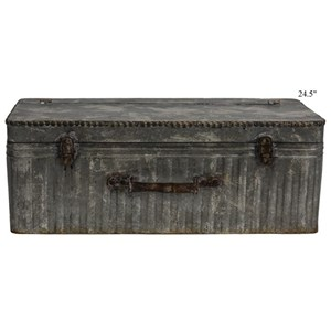 """Will's Company Accents Vintage Suitcase Shelf - 24.5"""""""