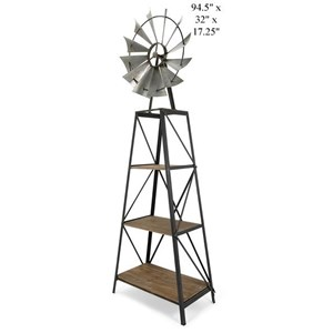 Will's Company Accents Windmill Bookshelf
