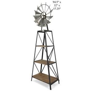 Will's Company Accents Windmill Bookshelf