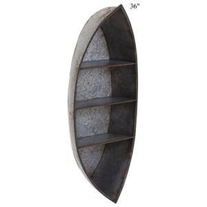"""Will's Company Accents Nelson Canoe Wall Shelf - 36"""""""