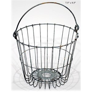"""Will's Company Accents Wire Pail - 9.5"""""""