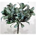 """Will's Company Accents Laurel Bush 9"""" Gray Green - Item Number: L13298GYGN"""