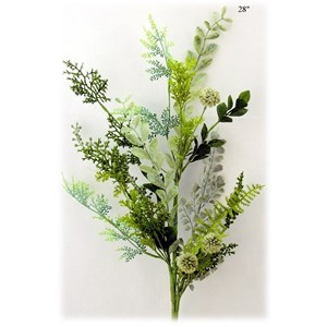Will's Company Accents Mixed Greens Spray - 28""