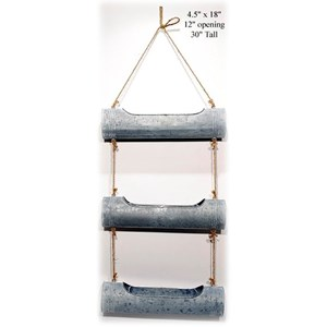 """Will's Company Accents Hanging Pipe Planter - 18"""""""