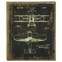"Will's Company Accents Plane Blueprint Wall Art - 19"" - Item Number: U14846"
