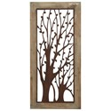 "Will's Company Accents Framed Tree Wall Plaque - 54"" - Item Number: U85972"