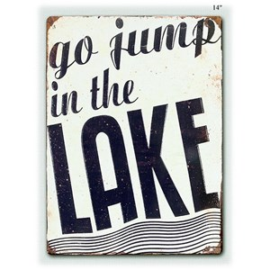"""Will's Company Accents 'Go Jump in the Lake' - 14"""""""