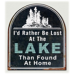 Will's Company Accents 'Lost at the Lake' Wall Sign