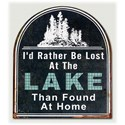 Will's Company Accents 'Lost at the Lake' Wall Sign - Item Number: Y15797