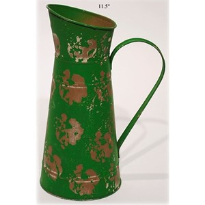 """Will's Company Accents Vintage Style Pitcher - 11.5"""""""