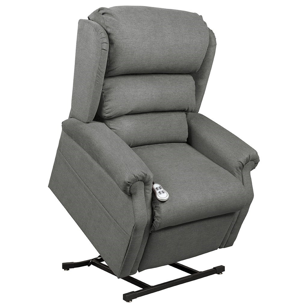 Ultimate Power Recliner Lift Chairs Cosmo Chaise Lounger - Item Number: NM-2750 Roger Putty