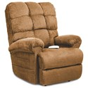 Ultimate Power Recliner Lift Chairs Venus Zero-Gravity Chaise Lounger - Item Number: NM1652-Angus Nutmeg