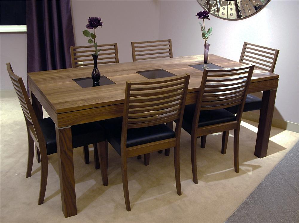 Winners Only Denmark 7-Piece Dining Table & Chair Set - Item Number: DD23771+6xDD2553S