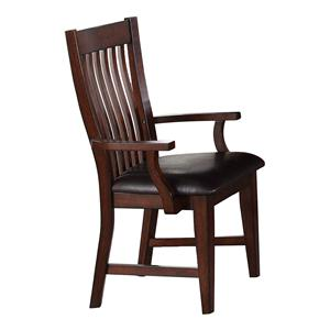 Winners Only Regis Slat Back Arm Chair