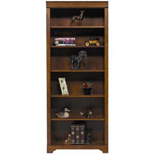 "Winners Only Americana Cherry 32"" Americana Cherry Modular Open Bookcase"