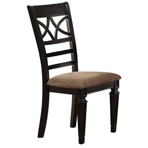 Winners Only Arlington X Back Side Chair