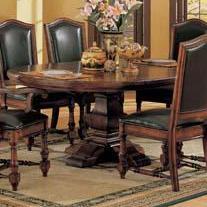 "Winners Only Ashford 72"" Single Pedestal Table - Item Number: DA44872"