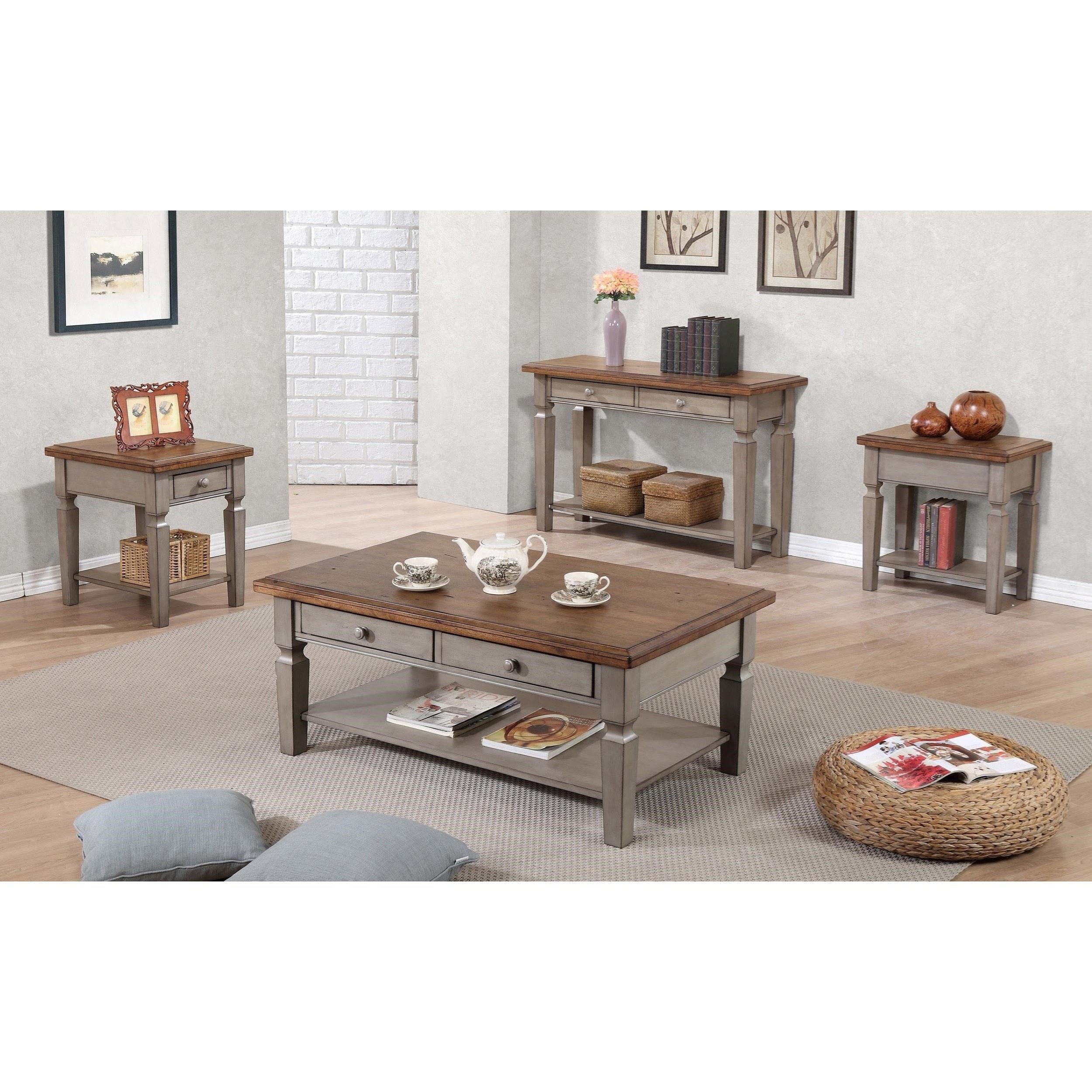 Winners Only Barnwell Ab100c 48 Quot Coffee Table With Shelf
