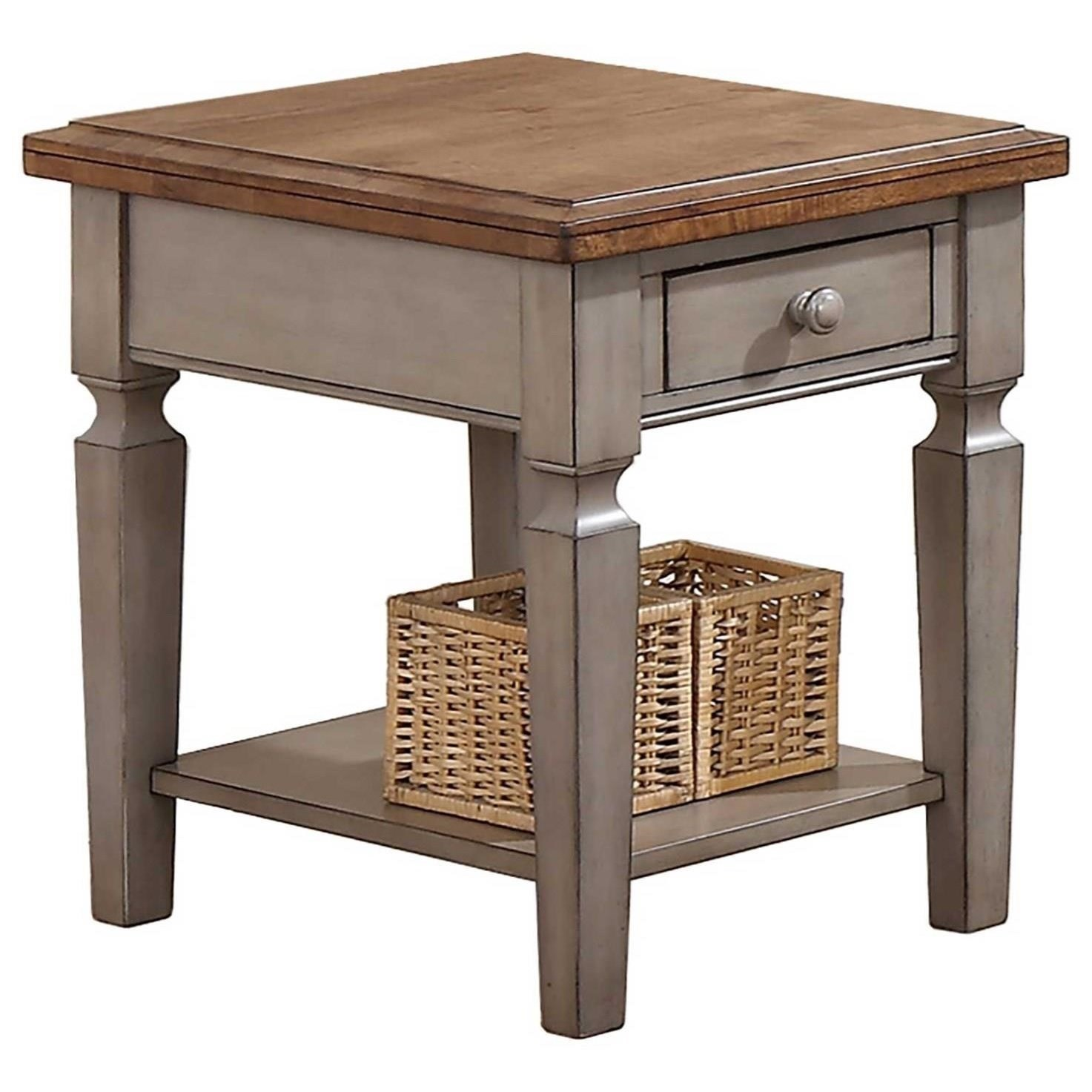 "18"" End Table"