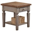 "Winners Only Barnwell 18"" End Table - Item Number: AB100E"
