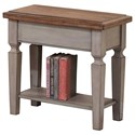 "Winners Only Barnwell 14"" Chair Side Table - Item Number: AB101E"
