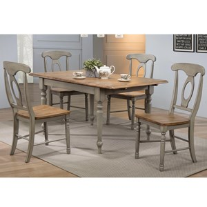 Winners Only Barnwell 5 Piece Dining Set