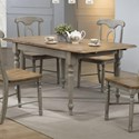 """Winners Only Barnwell 66"""" Leg Table - Item Number: DB53667"""
