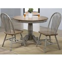 Winners Only Barnwell 3-Piece Dining Set - Item Number: DB54242+2x519S