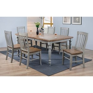 Winners Only Barnwell 7 Pc Dining Set