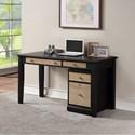 """Winners Only Berkeley 54"""" Single Pedestal Desk - Item Number: GB254DE+215FE"""