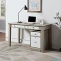 "Winners Only Berkeley 54"" Single Pedestal Desk - Item Number: GB254DG+215FG"