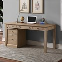 "Winners Only Berkeley 60"" Single Pedestal Desk - Item Number: GB260DA+215FA"