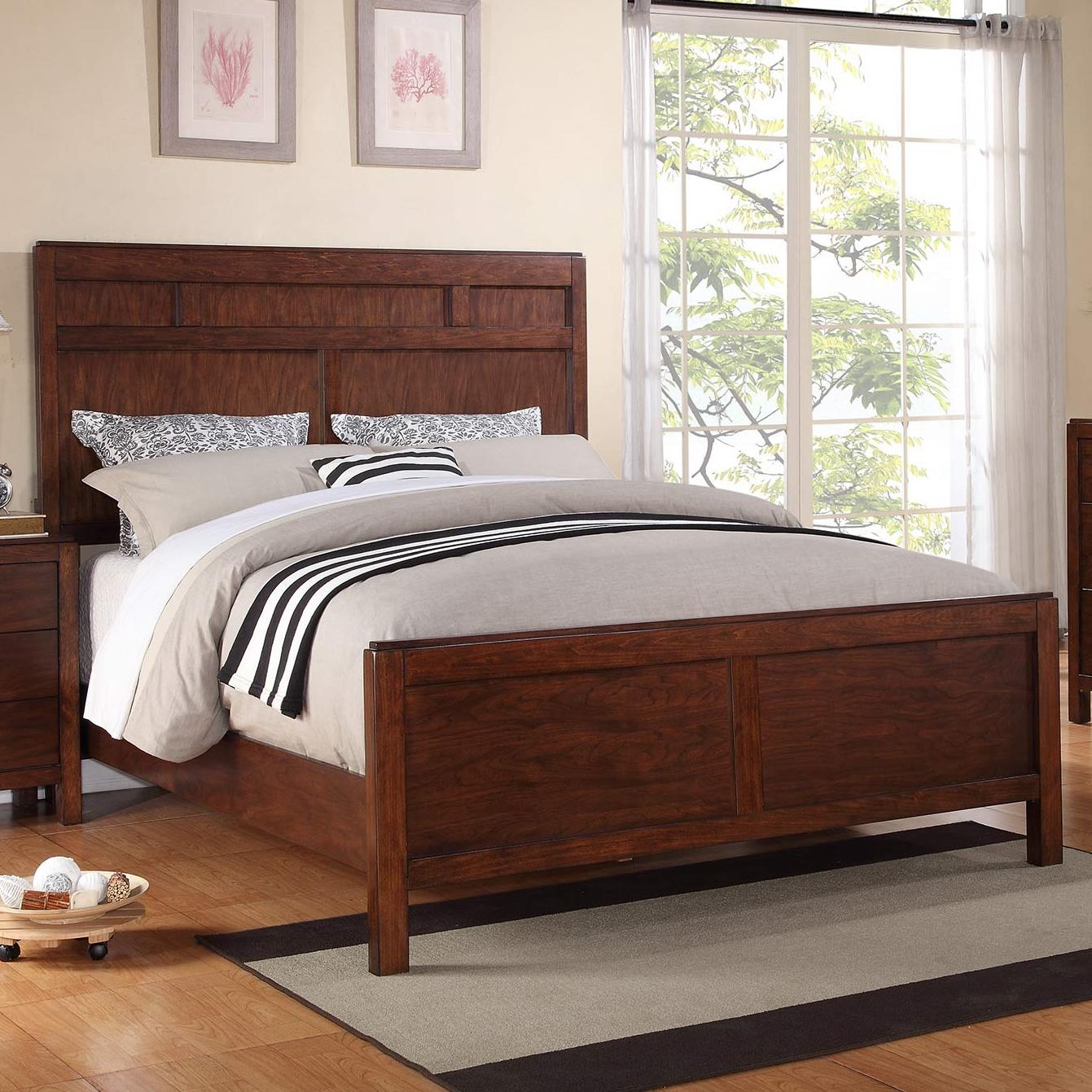 Winners Only Hampshire King Panel Bed - Item Number: BH2001K