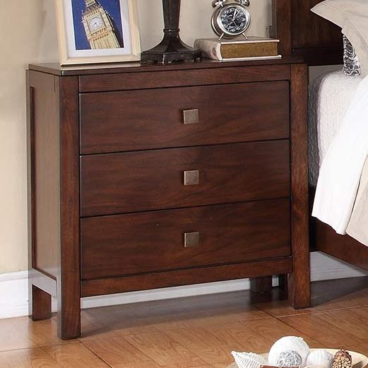 Winners Only Hampshire 3-Drawer Night Stand - Item Number: BH2005