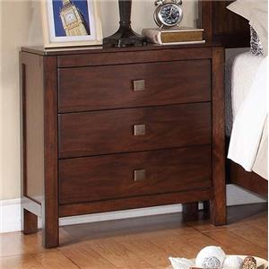 Winners Only Hampshire 3-Drawer Night Stand