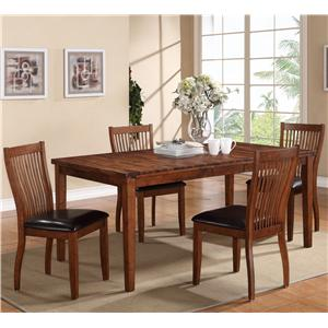 Winners Only Broadway 5 Piece Dining Set