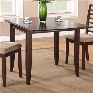 "Winners Only Brownstone 50"" Leg Table"