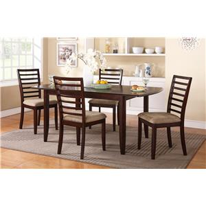 "Winners Only Brownstone 72"" Table and Chair Set"