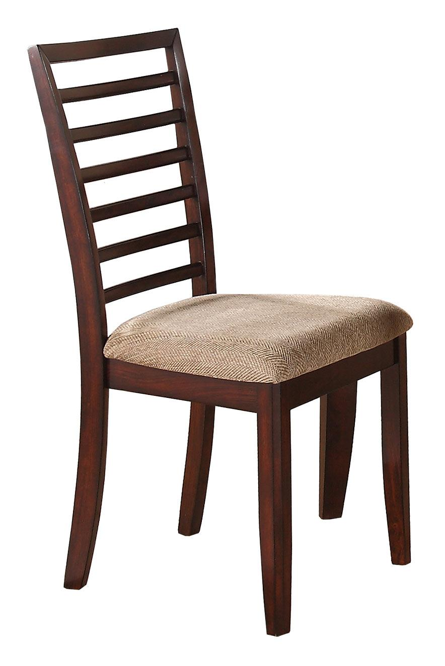 Winners Only Brownstone Ladder Back Side Chair - Item Number: DB1450SC