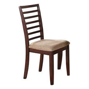 Winners Only Brownstone Ladder Back Side Chair