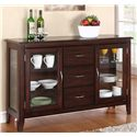 "Winners Only Brownstone 54"" Sideboard - Item Number: DB1470BC"