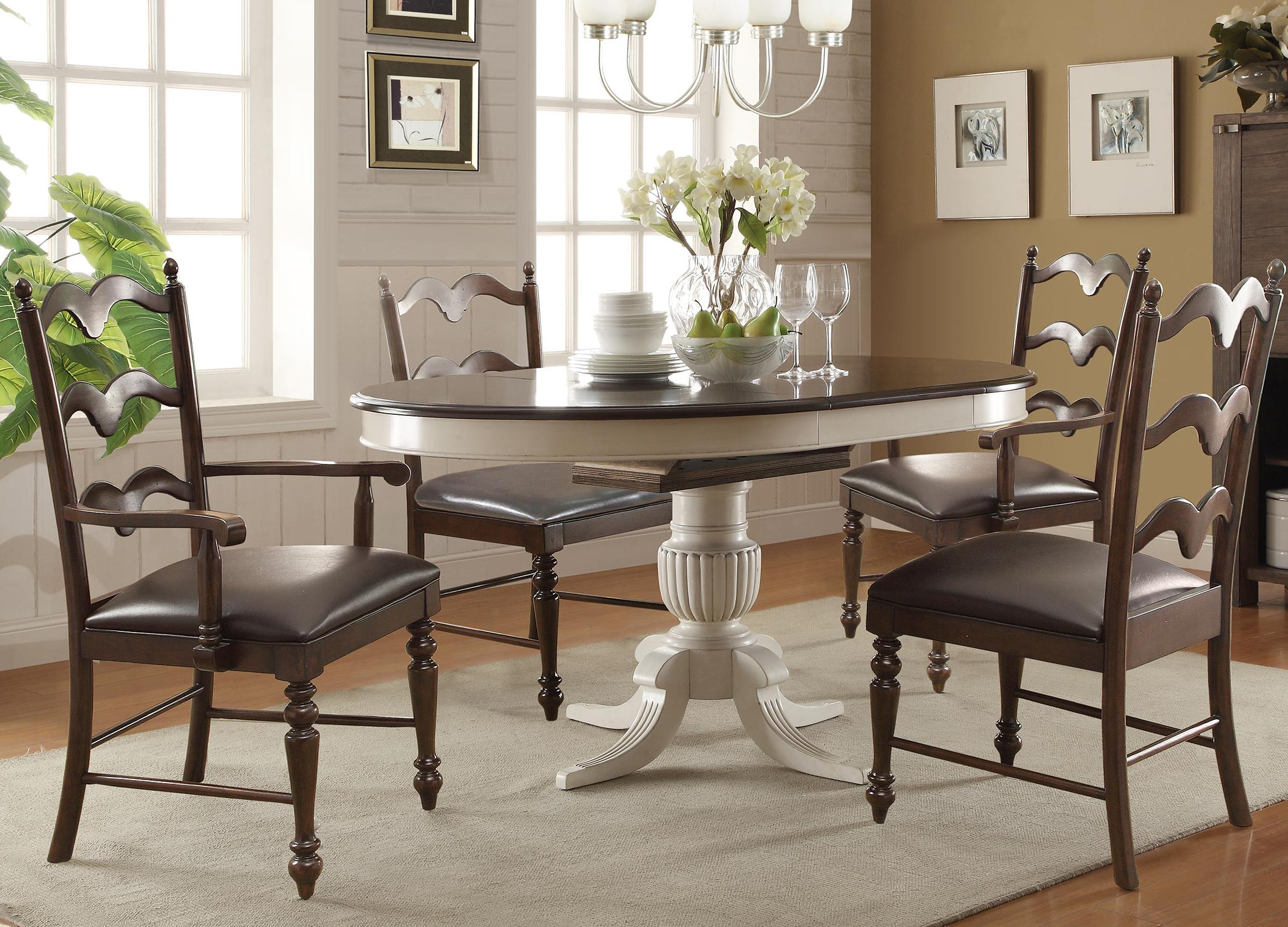 Winners Only Cambridge 5 Piece Dining Set With 18
