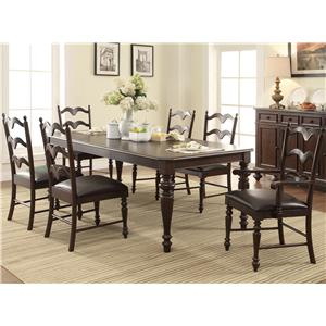 Winners Only Cambridge 7 Piece Dining Set