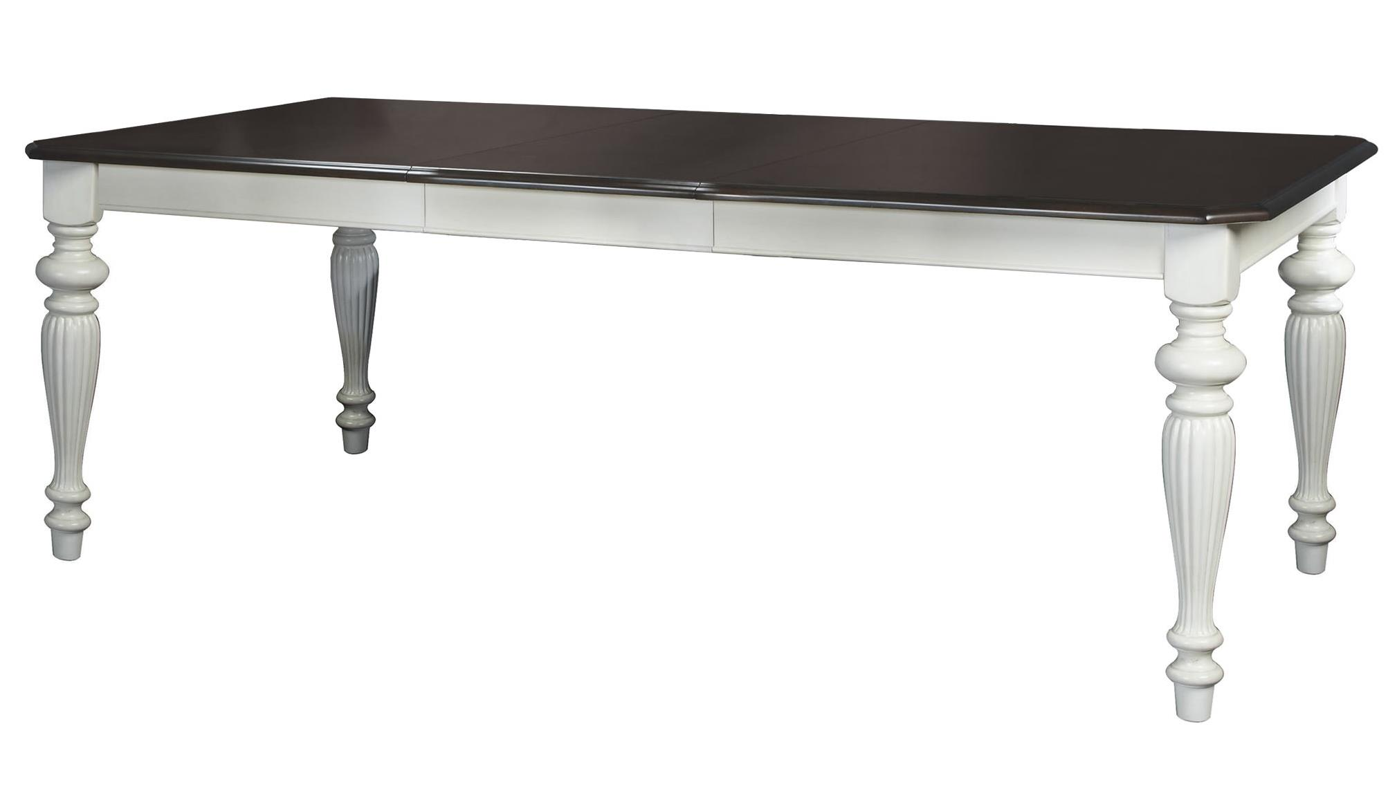 """Winners Only Cambridge Leg Table with 20"""" Leaf - Item Number: DC14286MP"""