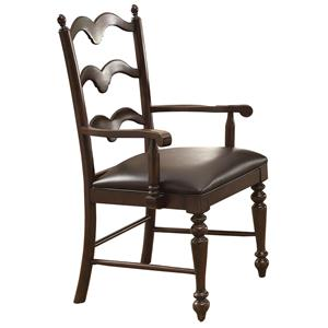 Winners Only Cambridge Country Ladder Back Arm Chair
