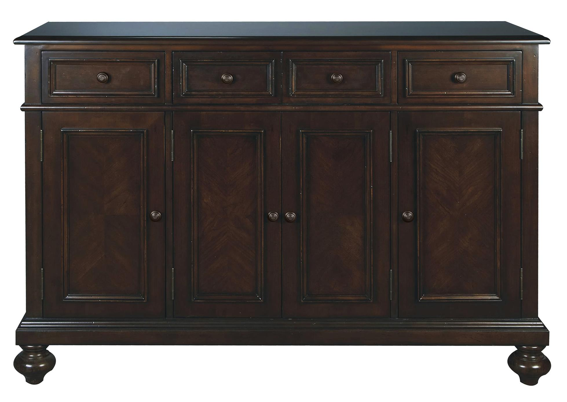 "Winners Only Cambridge 58"" Sideboard - Item Number: DC1570BM"